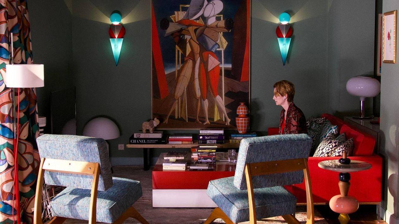 La alfombra roja de los Premios Goya.Tilda Swinton protagoniza el corto
