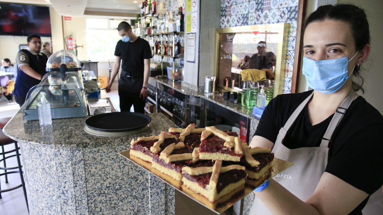 La Romería Coffe & Co, en el barrio de A Residencia, en Lugo