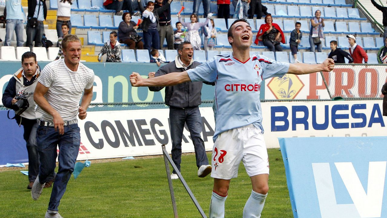 2 - Celta-Alavés (2-1) de Segunda el 6 de junio del 2009. Doblete de Iago.