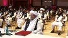 El mulá Abdul Salam Hanafi lidera la representación de los talibanes