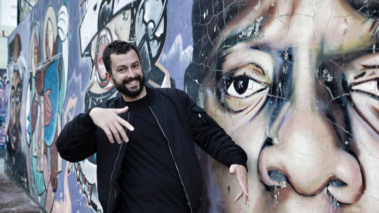 Xurxo Carreño, jugador de balonmano e «influencer»