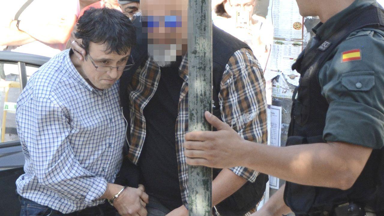 La Guardia Civil registra en Sabadell la vivienda de uno de los nueve detenidos en la operación