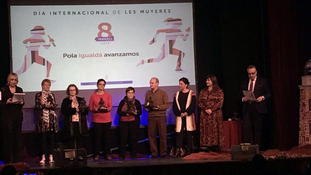 Acto institucional del 8-M en Asturias