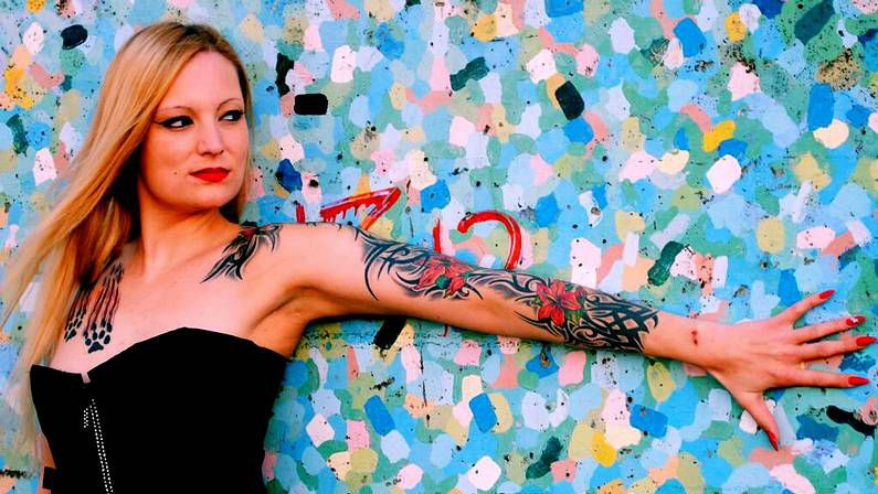 La actriz porno Kitty Blair