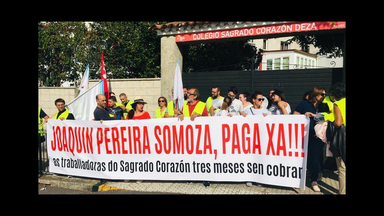 Más de 5.000 personas claman en la calle por el futuro del empleo de As Pontes y la comarca
