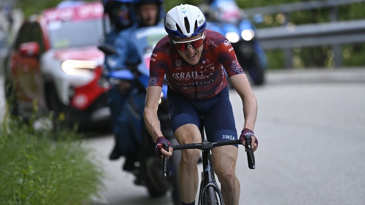 Las imágenes de la última etapa de la Ruta do Albariño de ciclismo.Samuel Sánchez