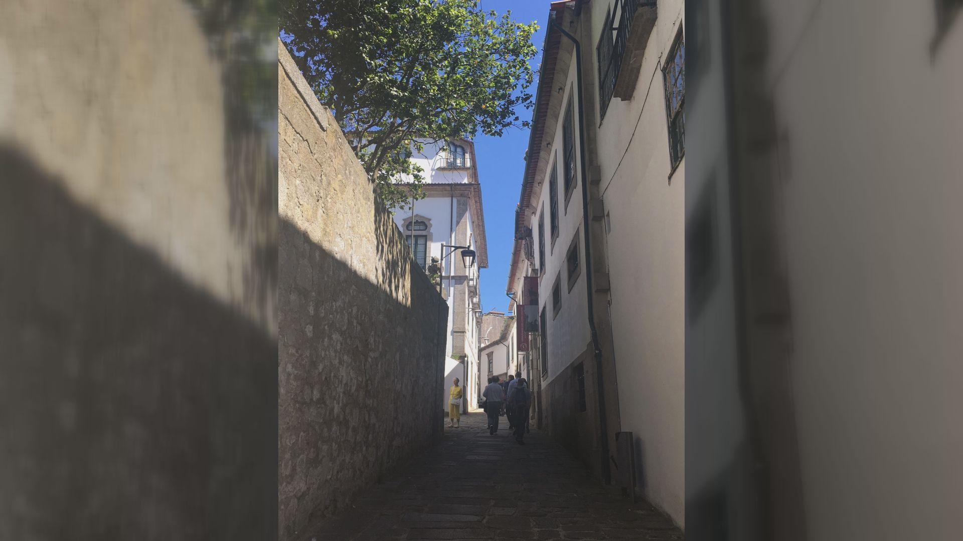 Tramo del Camino en territorio portugués