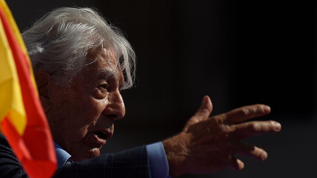 Vargas Llosa: «Ninguna conjura independentista destruirá la democracia»
