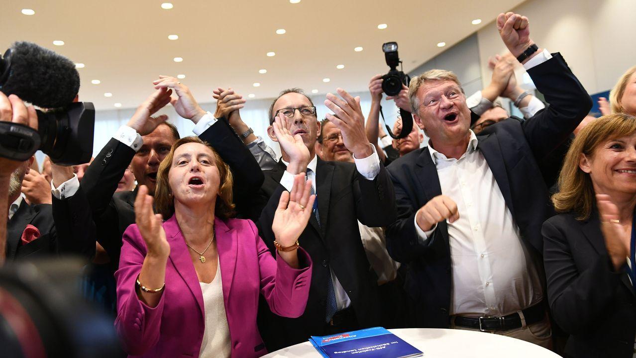 El mundo despierta contra el cambio climático.Los líderes de AfD celebran sus buenos resultados electorales en Sajonia