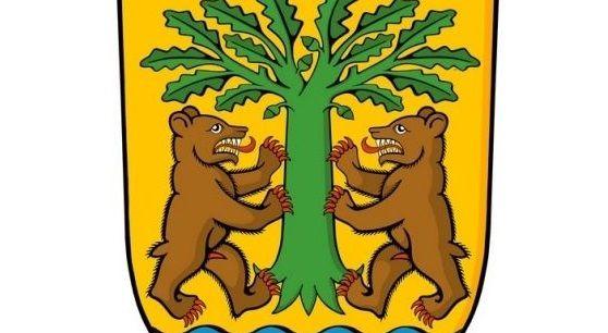 Parte del escudo de O Carballiño que critica la oposición