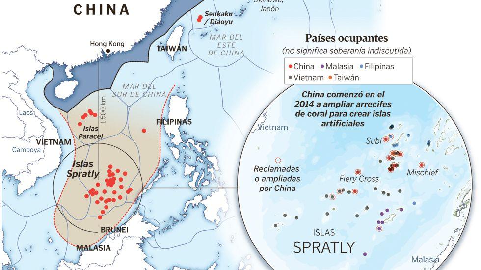 Disputa sobre el control del Mar de China Meridional