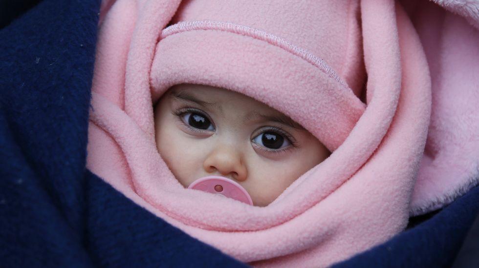 Las vidas de los niños refugiados en Serbia, en peligro por las bajas temperaturas.Los alumnos se turnan en la bici en el plan para pacificar países.