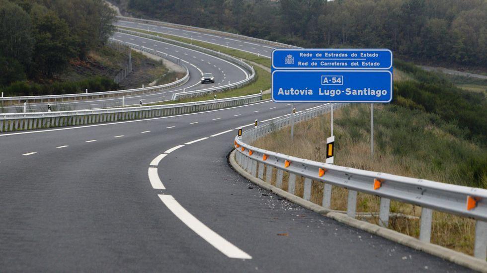 N-547 (Palas de Rei). 22,95 kilométricos. A pocos metros del Centro de Conservación de Carreteras se encuentra este tramo que une San Xulián con el límite con Melide. Está llena de baches y socavones, especialmente en el carril de subida en dirección a Lugo proviniendo de Santiago. foto alberto lópez