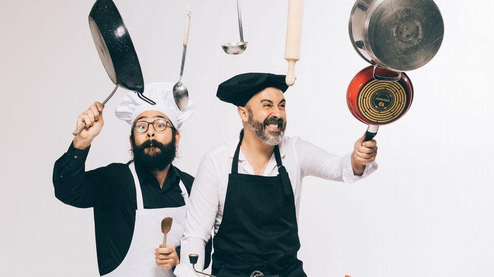 Fran Rei y Félix Rodríguez presentan «Saaabor!» en Outeiro de Rei