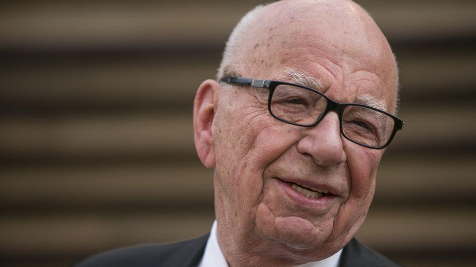 La boda de Murdoch y Hall en Londres.Donald Trump ha asegurado que no se cree los resultados de la encuesta que lo sitúan por dtrás de cuqatro candidatos demócratas