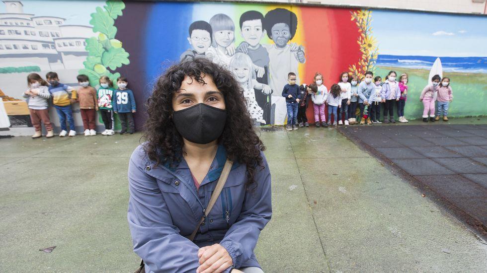 El colegio Fogar estrena obra de arte: ¡las imágenes!.Filme Gaza