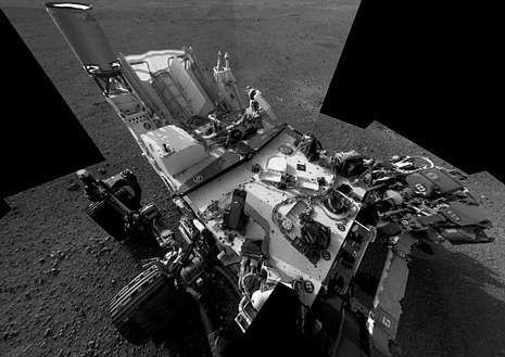 Diez años de la tragedia del Columbia.El «Curiosity» es el robot más avanzado enviado hasta ahora al espacio