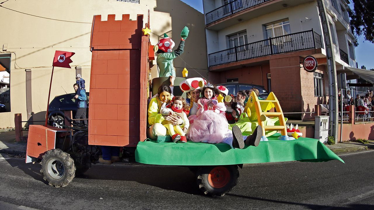Recta final del carnaval en Barbanza