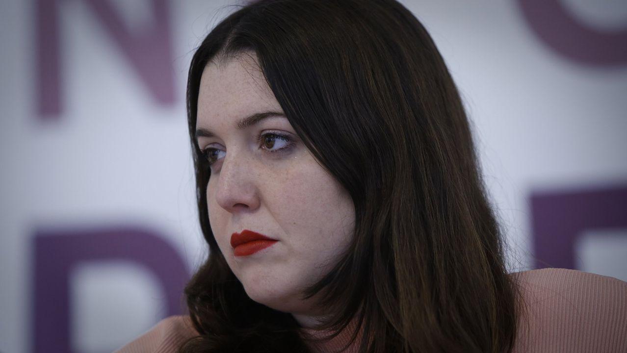 Ángela Rodríguez, diputada de En Marea durante la pasada legislatura, fue desplazada al número 2 de la candidatura por Pontevedra En Común- Unidas Podemos tras el cambio de provincia de Yolanda Díez y no seguirá en el Congreso