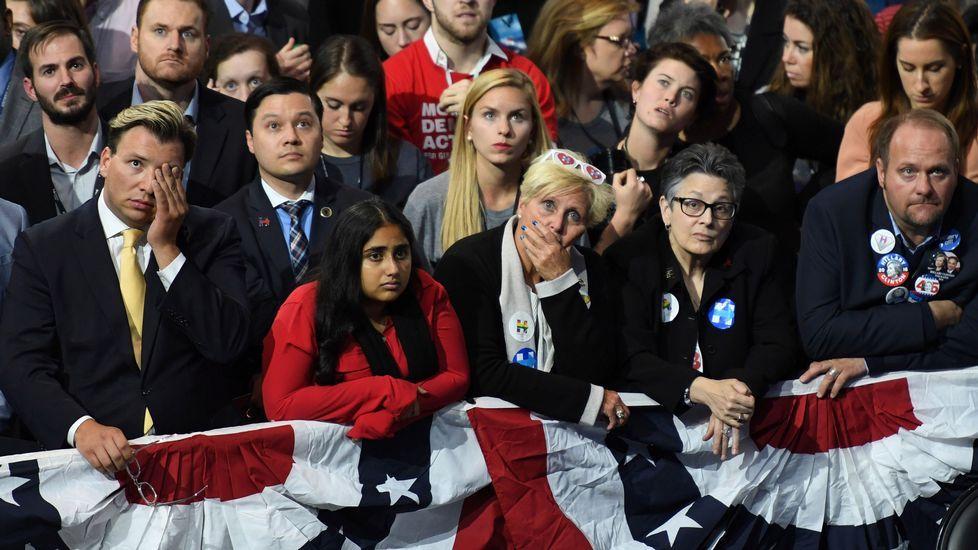Tristeza entre los demócratas.