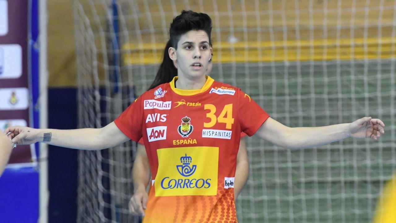 Alicia Fernández. Una habitual en las convocatorias de la selección femenina de balonmano. Jugó el Europeo y apunta al Mundial.