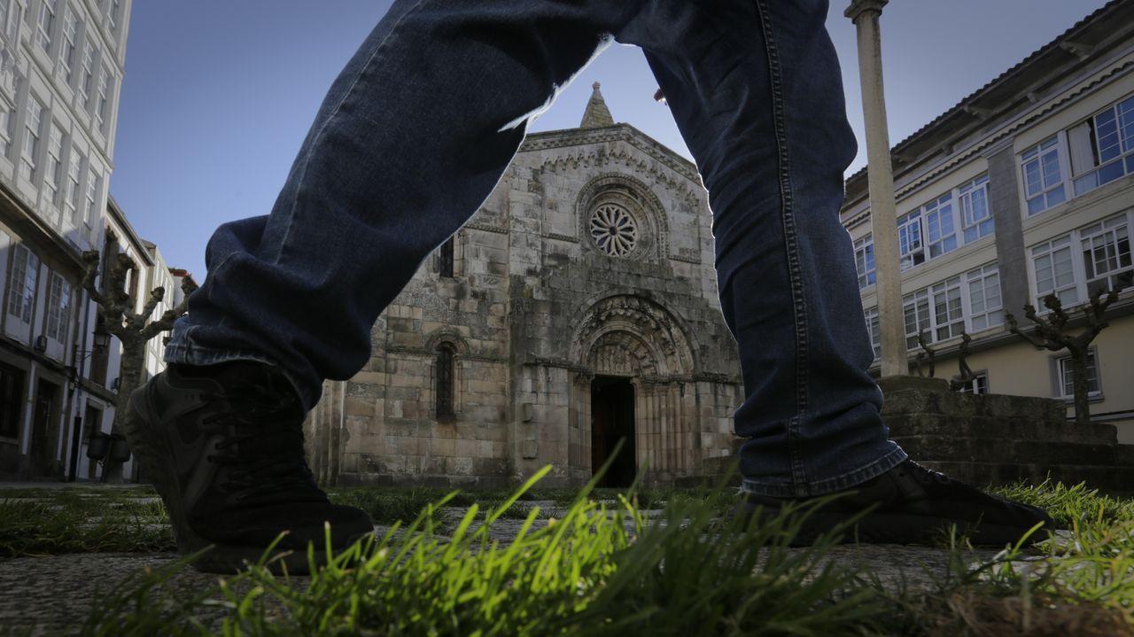 Colegiata de Santa María, en A Coruña