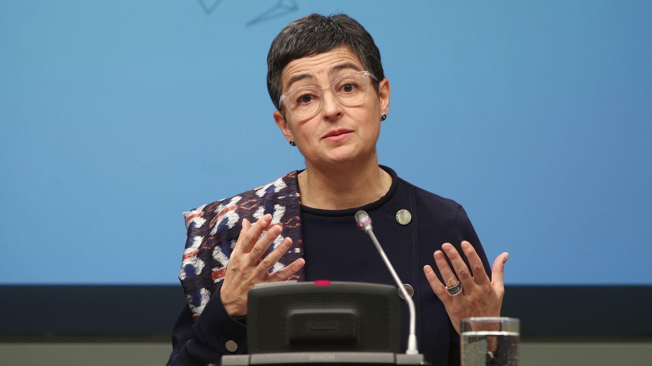 La ministra de Asuntos Exteriores, Arancha González Laya