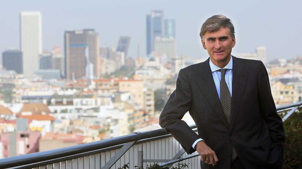 Francisco García Paramés: «No me fío de los que vengan a mi proyecto porque me llamen el Warren Buffett español».Imagen de archivo de una protesta de afectados