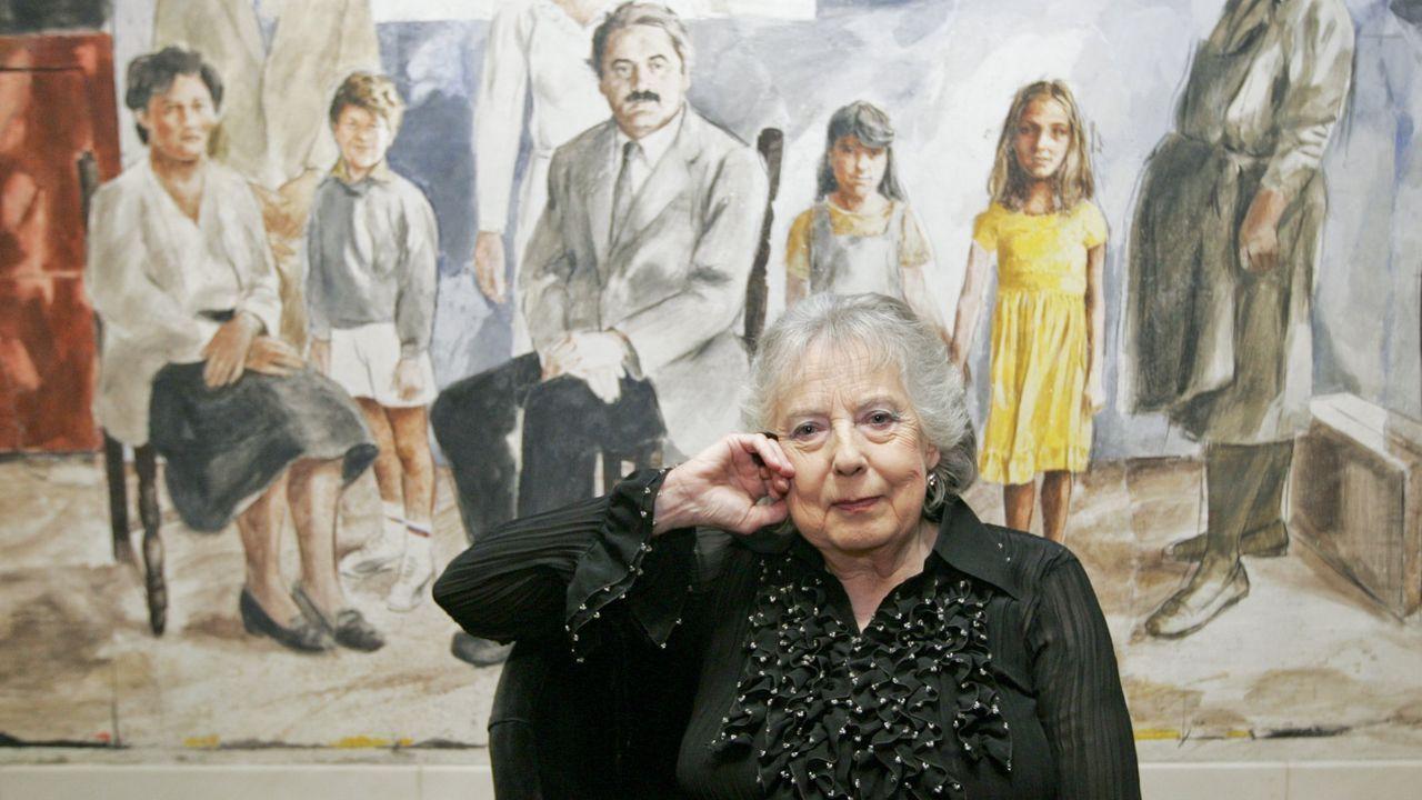 A escritora Úrsula Heinze