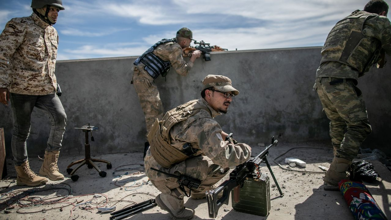 La pandemia en el mundo: la civilización se sumerge en una nueva era.Combatientes del Gobierno de unidad libio sostenido por la ONU