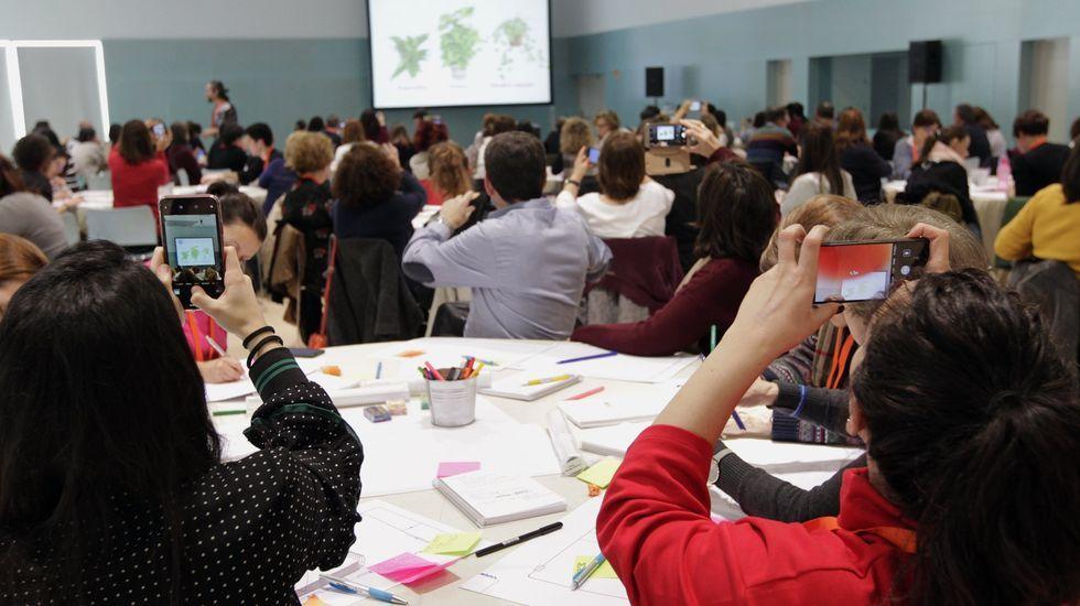 Los encuentros InspiraTICs siempre se llenan. Es una formación gratuita para profesores organizada por la Fundación Amancio Ortega y la Fundación Santiago Rey Fernández-Latorre