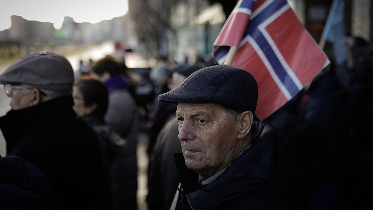 Protesta Long Hope Noruega