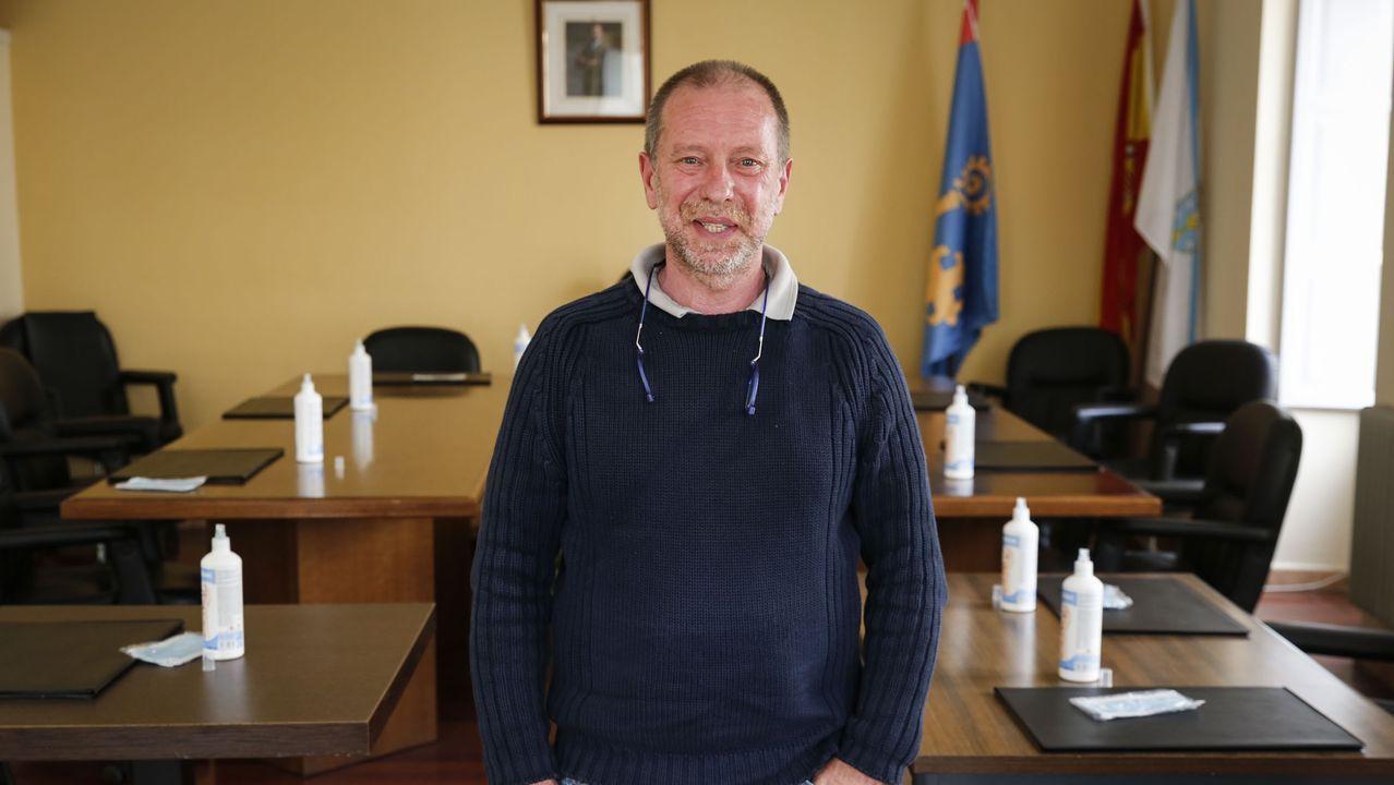 Emilio Díaz, alcalde de Melón