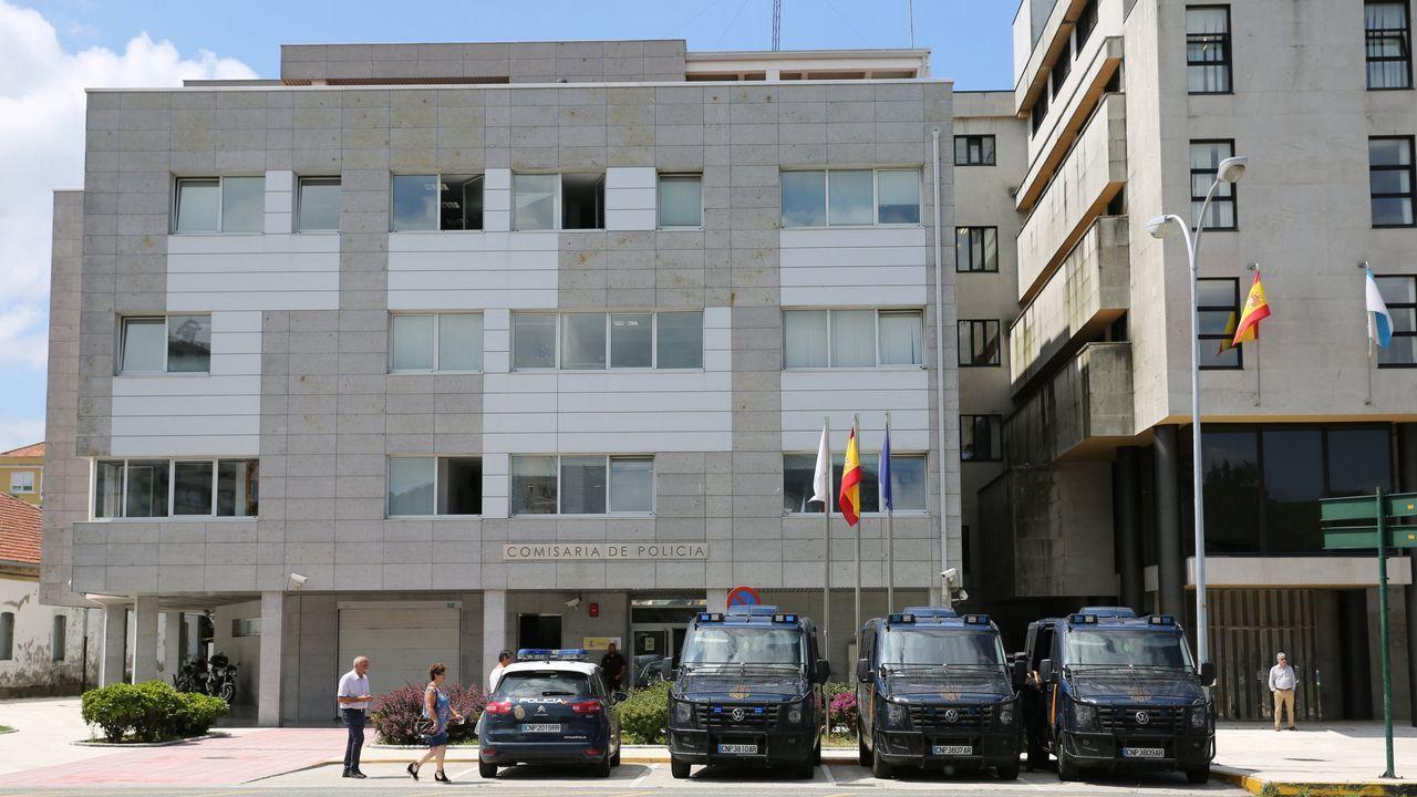 La red albanesa con base en Santiago distribuía varios kilos de heroína a la semana en toda Galicia y en Asturias.Imagen exterior de la Ciudad de la Justicia de Murcia