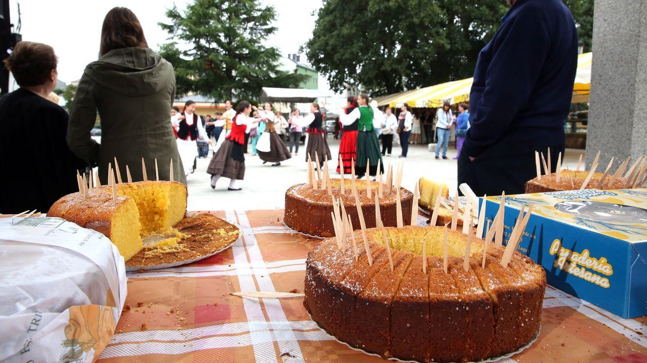 Guitiriz honra la torta de millo