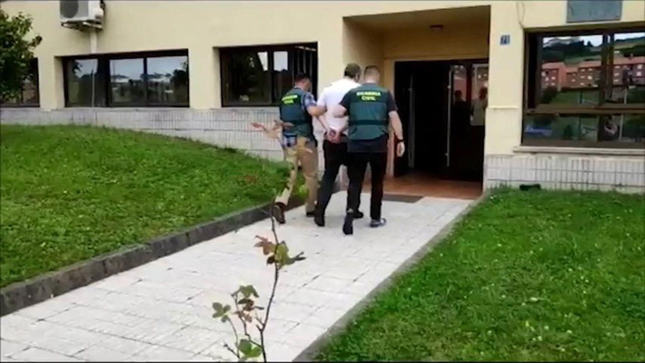 Uno de los detenidos por la agresión a un joven en Piedras Blancas