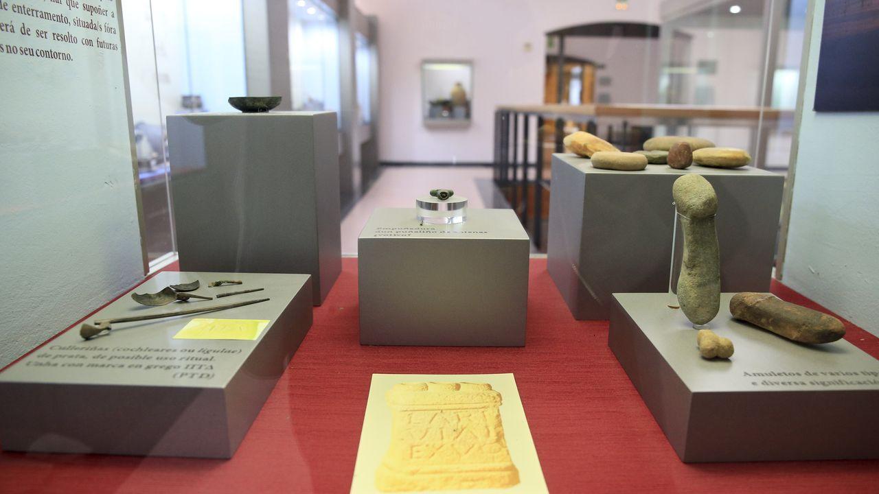En el museo se exhibe material hallado en las excavaciones del castro