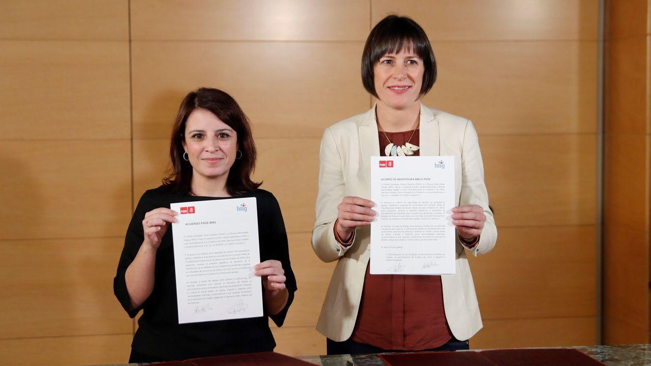 Néstor Rego, del BNG, permanecerá en el Grupo Mixto con los independentistas de Junts per Catalunya