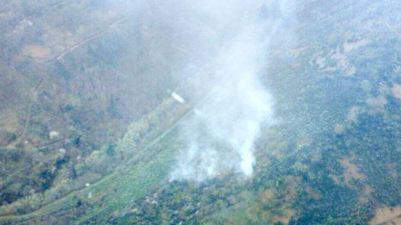 incendios asturias.Imagen de archivo de un incendio forestal