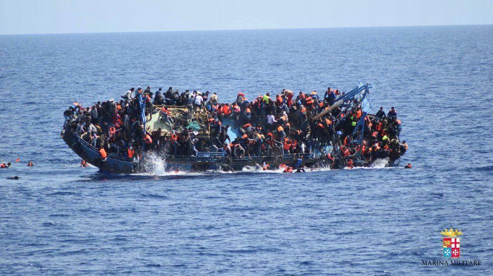 Nuevo naugrafio en las costas libias