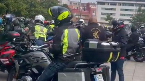 Concentración motera en Gijón.El extesorero del PP Luis Bárcenas durante el juicio por la presunta caja B del PP el pasado 8 de febrero