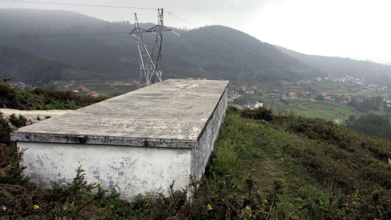 Un depósito de agua para una traída vecinal