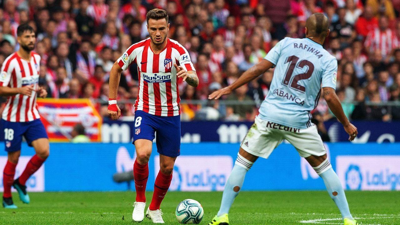 Atlético-Celta en el Wanda Metropolitano el 21 de septiembre del 2019, jornada 5 (2/19)