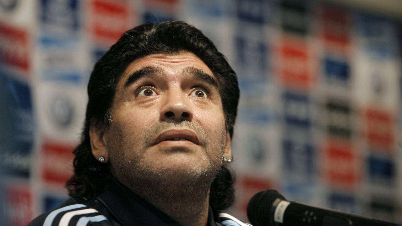 Rueda de prensa en Buenos Aires en el 2009