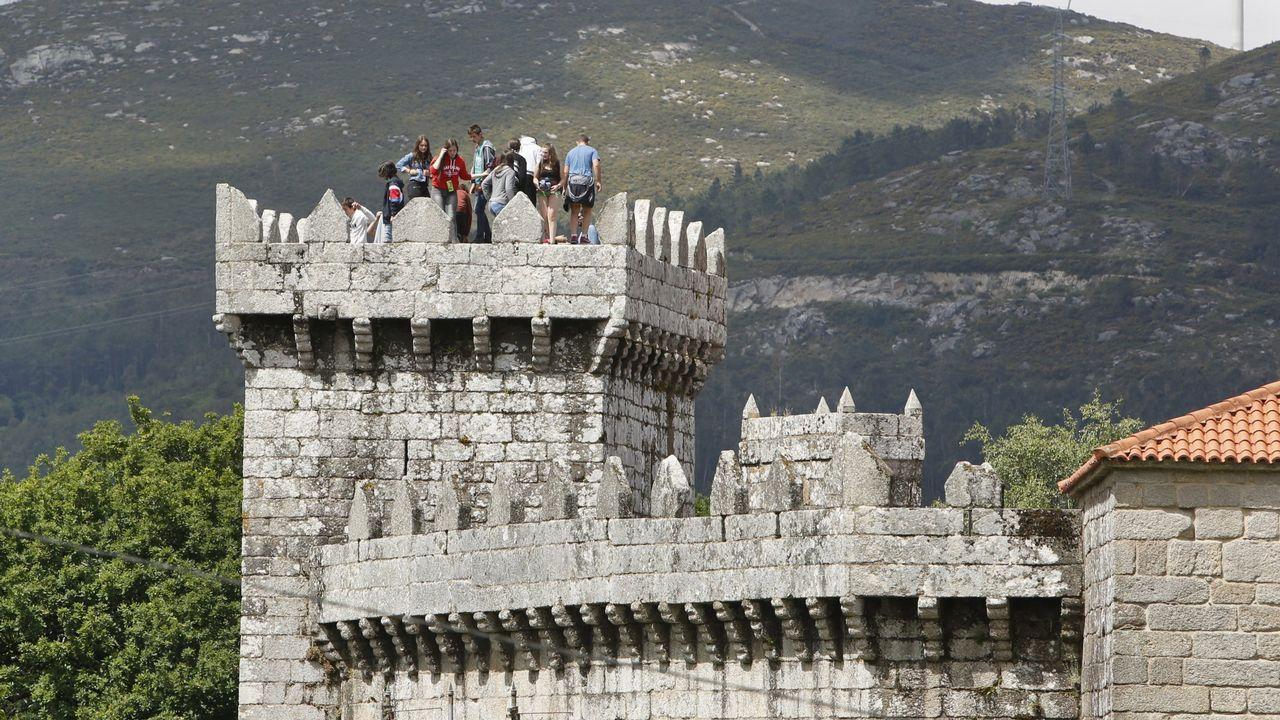 Castelo de Vimianzo, que alberga artesanía en vivo