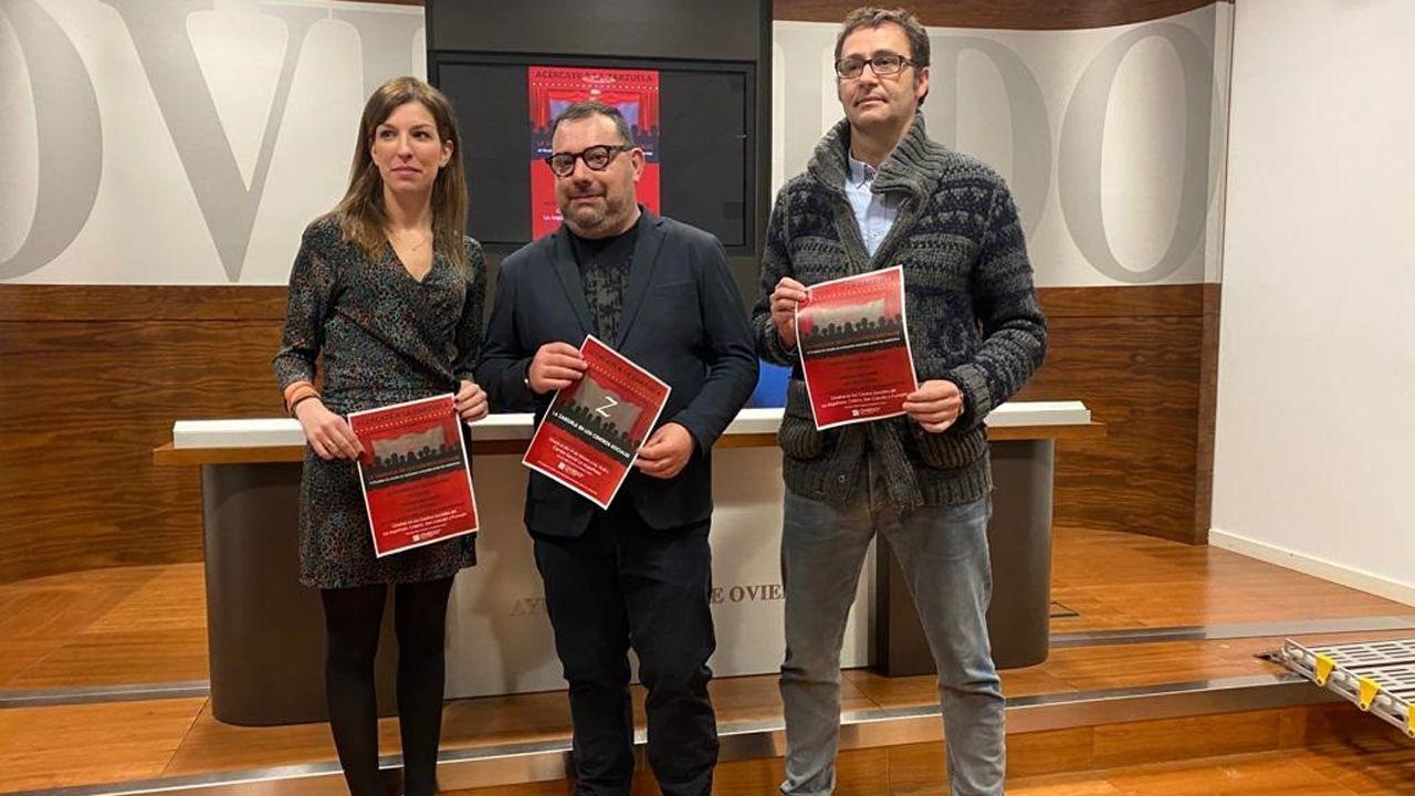 Lourdes García, Cosme Marina y José Luis Costillas