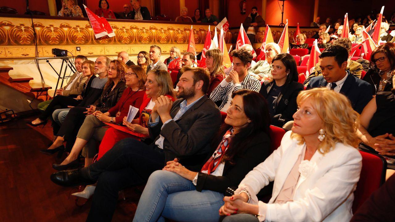 ÁLBUM: Reconocimiento a los sindicalistas históricos de Lugo.María Loureiro, alcaldesa y candidata del PSOE a las elecciones municipales de Viveiro