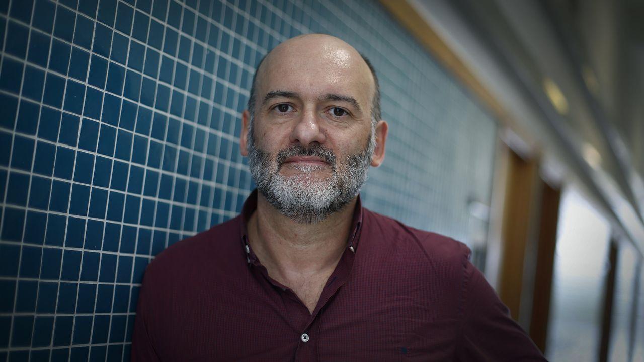 Ramón Doallo, en la Facultad de Informática