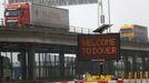 Tráfico de mercancías procedentes de la UE en Dover