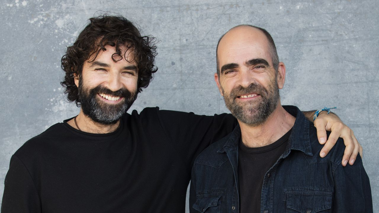Mateo Gil y Luis Tosar.